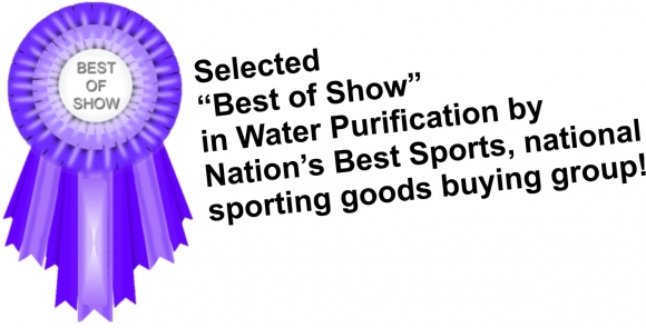 NBS Best in Show for Water Purification Devices